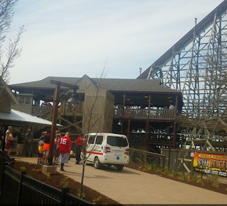 Steel Vengeance has small bump on opening day on new roller coaster