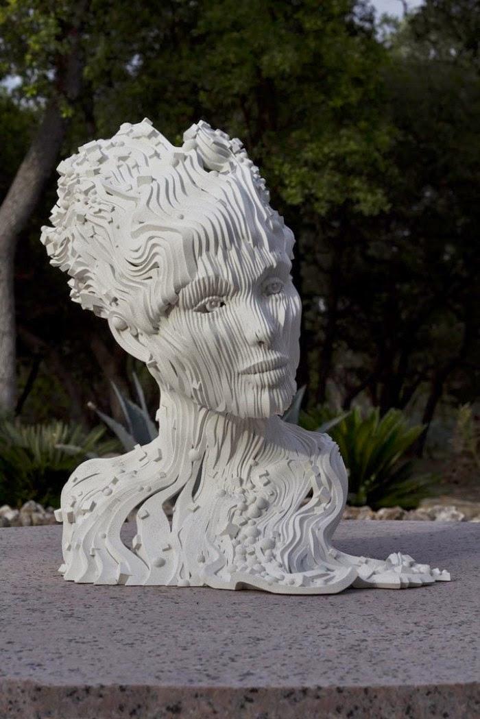 Французский скульптор. Gil Bruvel