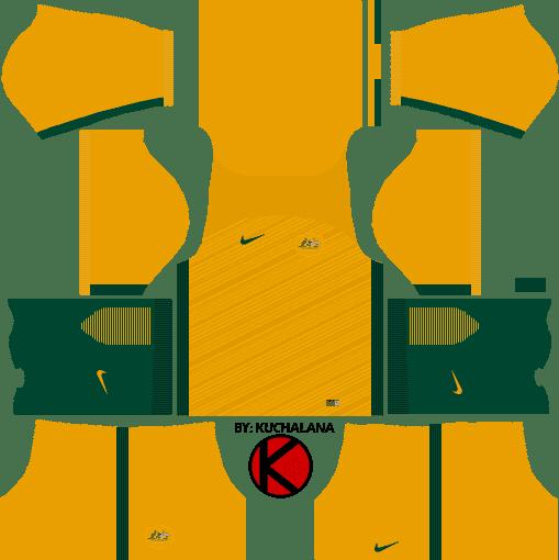 2693ad96d0 Australia Nike Kits 2017 - Dream League Soccer - Kuchalana