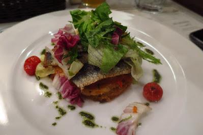 Bistro Du Vin, sardine tart
