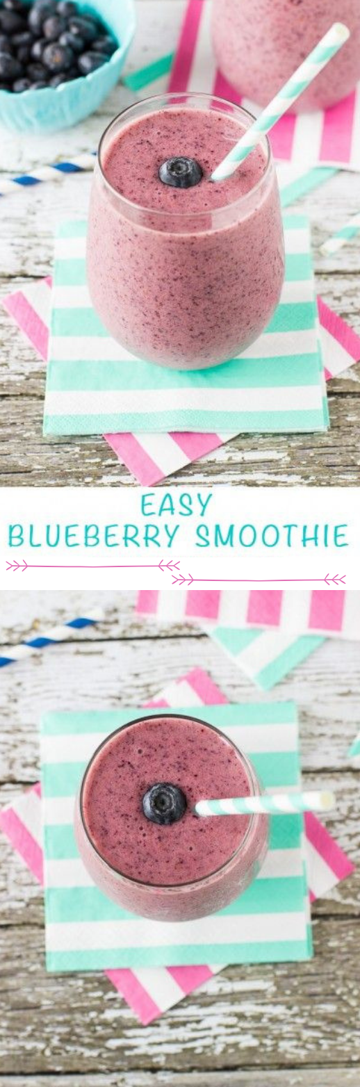 Blueberry Smoothie #smoothie #drink