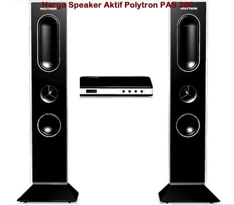 Harga Polytron Speaker Aktif PAS 200 Terbaru Dan Spesifikasi