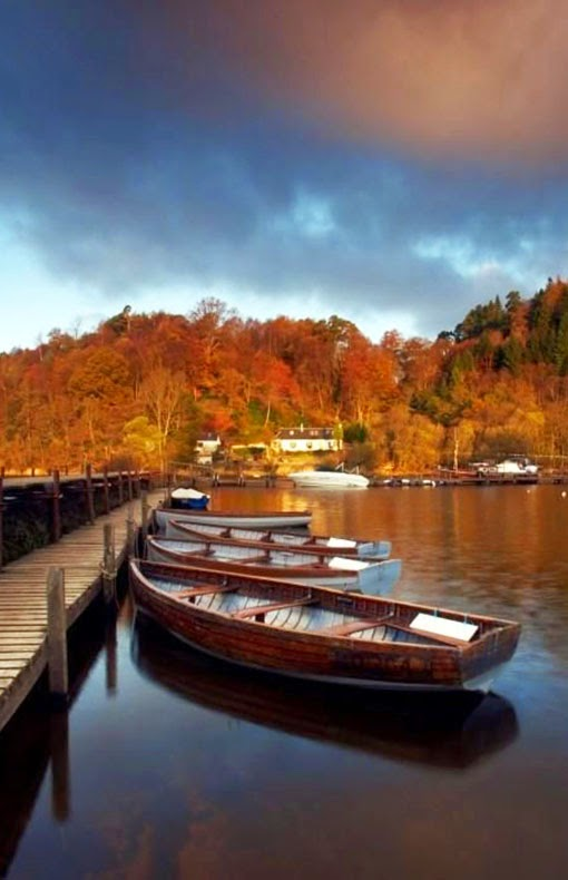 Loch Lomond  is a freshwater Scottish loch which crosses the Highland Boundary Fault. It is the largest inland stretch of water in Great Britain by surface area. The loch contains many islands, including Inchmurrin, the largest fresh-water island in the British Isles.