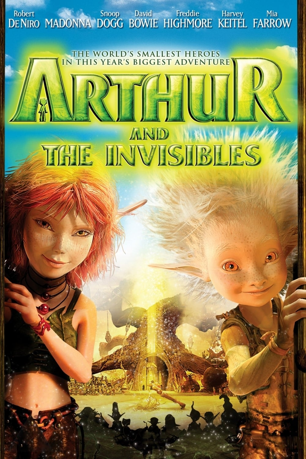 Arthur and the Invisibles (2006) Dual Audio Hindi 350MB BluRay 480p ESubs