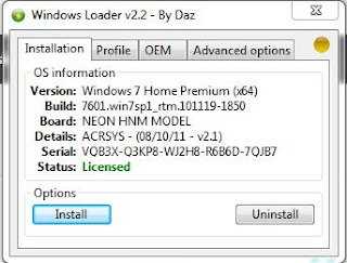Windows 7 Loader 2.2