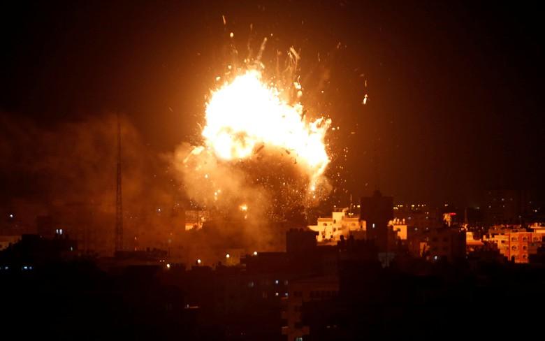 Aqsa TV dibom pesawat zionis