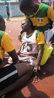 Nigerian referee Basil Giwa collapses and dies