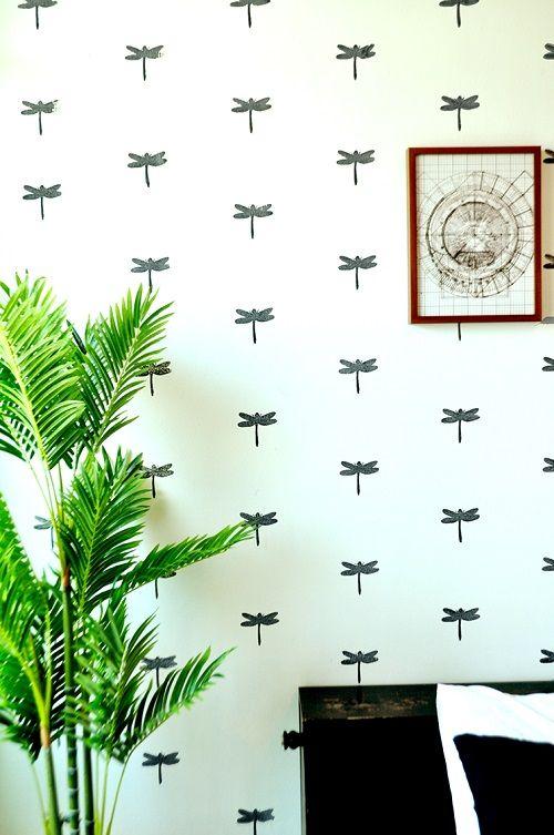 Estampados, una gran idea para resaltar una pared