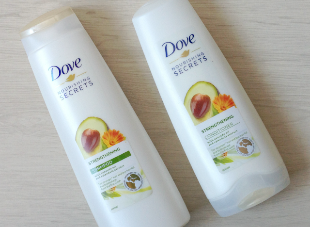 dove nourishing secrets strengthening shampoo conditioner