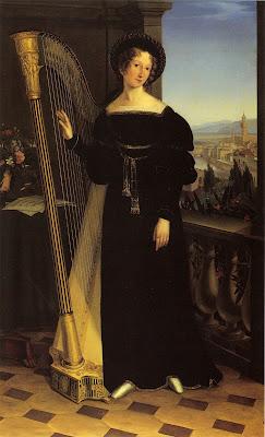 Portrait de Friederike Juliane Graefin (1821), Louise Seidler