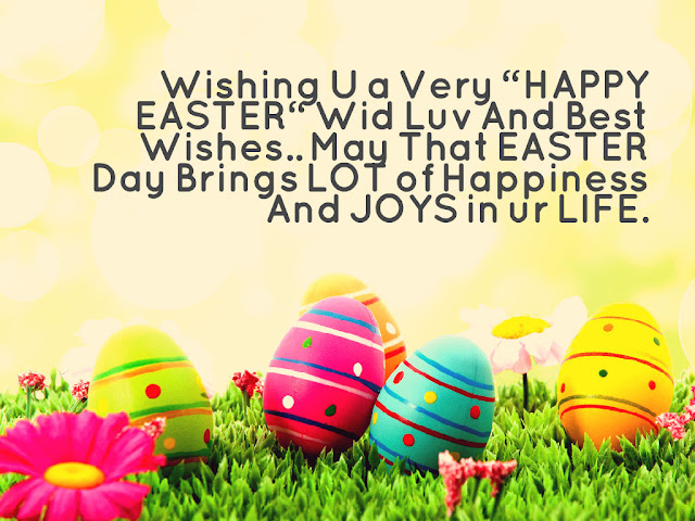 Happy Easter Wishes Quotes 2017