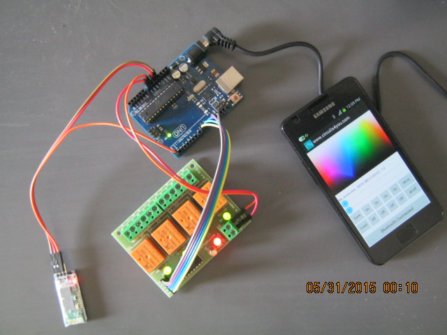 Bluetooth Based Home automation using android