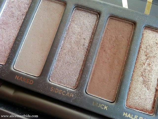 Urban Decay, UD, Naked Palette, beauty, makeup, eye shadow, brows