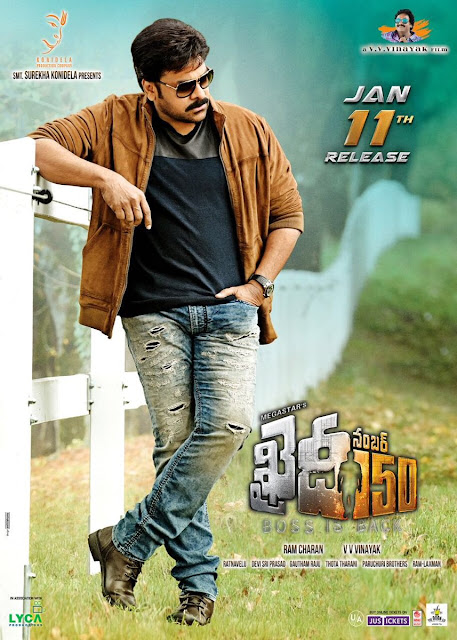 Khaidi No 150 Movie Latest HD Posters
