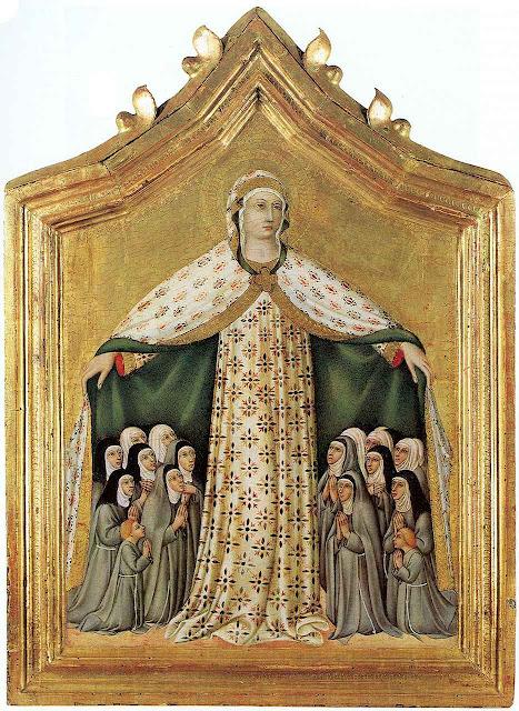 Madonna della Misericordia, Sano di Pietro (1406–1481).