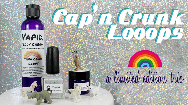 Vapid Lacquer Cap'n Crunk Loops Limited Edition Trio