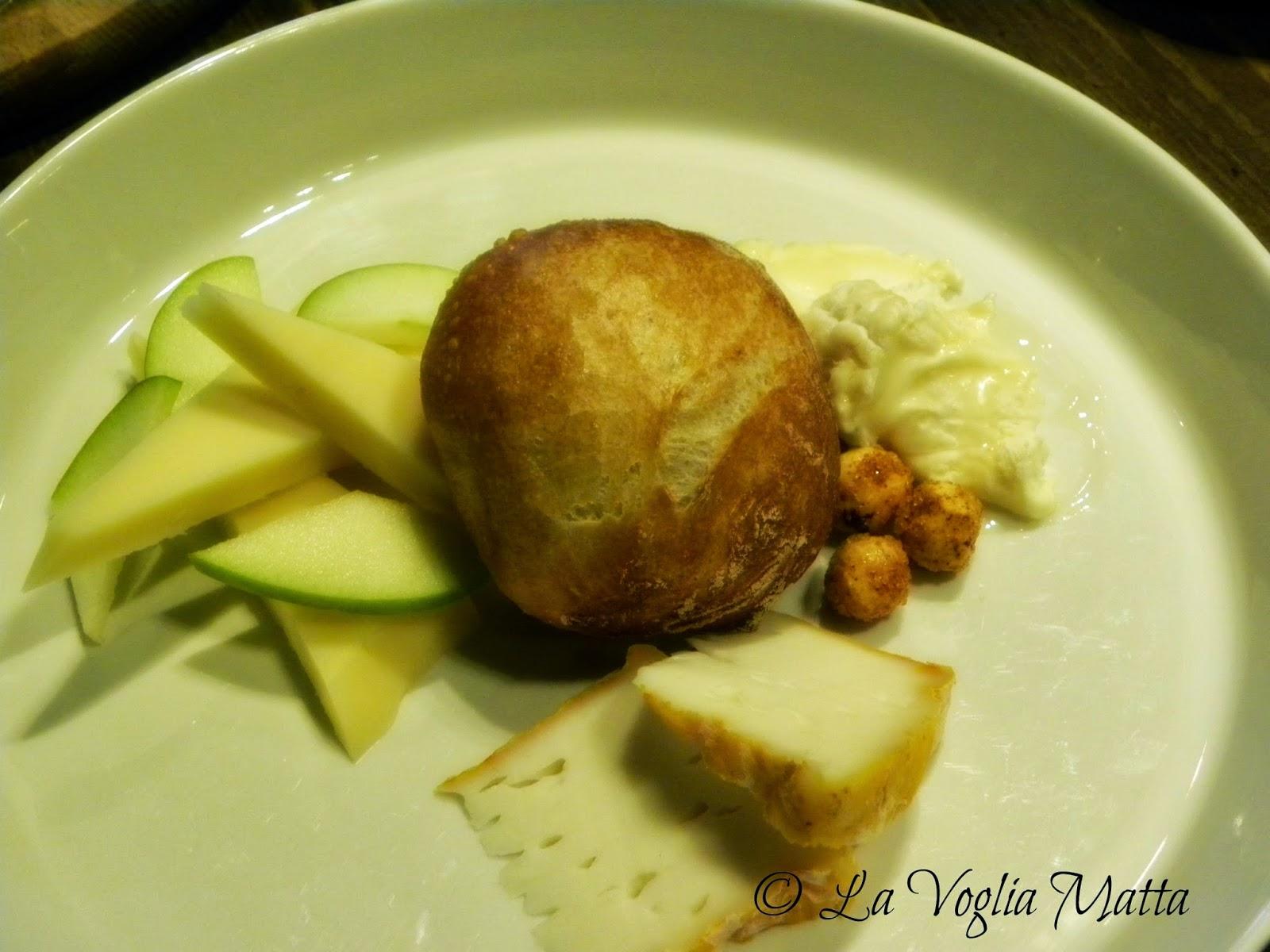 Orsone formaggi e mela