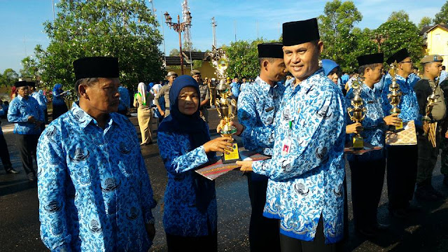 Selamat...! SD Negeri 149/VIII Muara Tebo Meraih Juara 1 Lomba Adiwiyata Tahun 2016