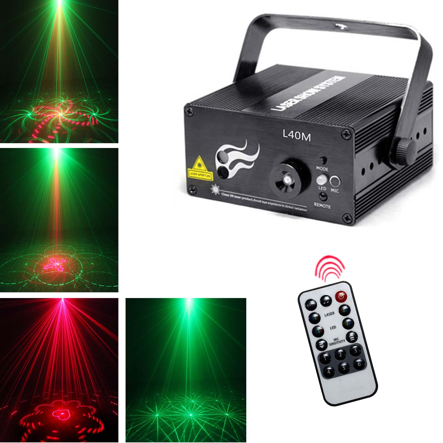 outdoor holiday light projector