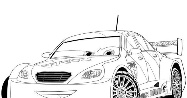 Cars 2 Disegno Da Colorare N 14