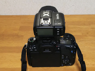 Canon EOS 9000D +Godox X1T-C TTLワイヤレスフラッシュトリガー-3