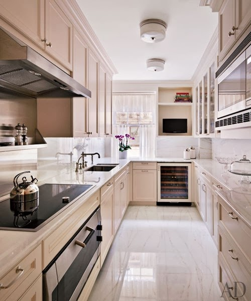 Apartment Kitchens Designs: Mix And Chic: Home Tour- An Elegant New York Apartment In