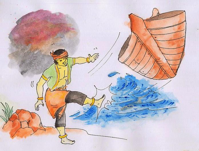 Legenda Sangkuriang Dan Asal Usul Gunung Tangkuban Perahu