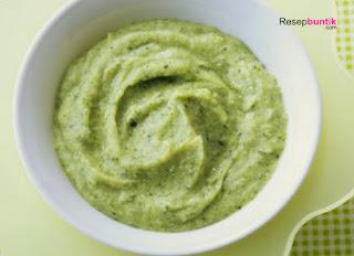 Makanan pendamping ASI, MPASI umur 6 bulan, bubur susu kacang ijo / hijau, bubur bayi yang terbuat dari kacang hijau