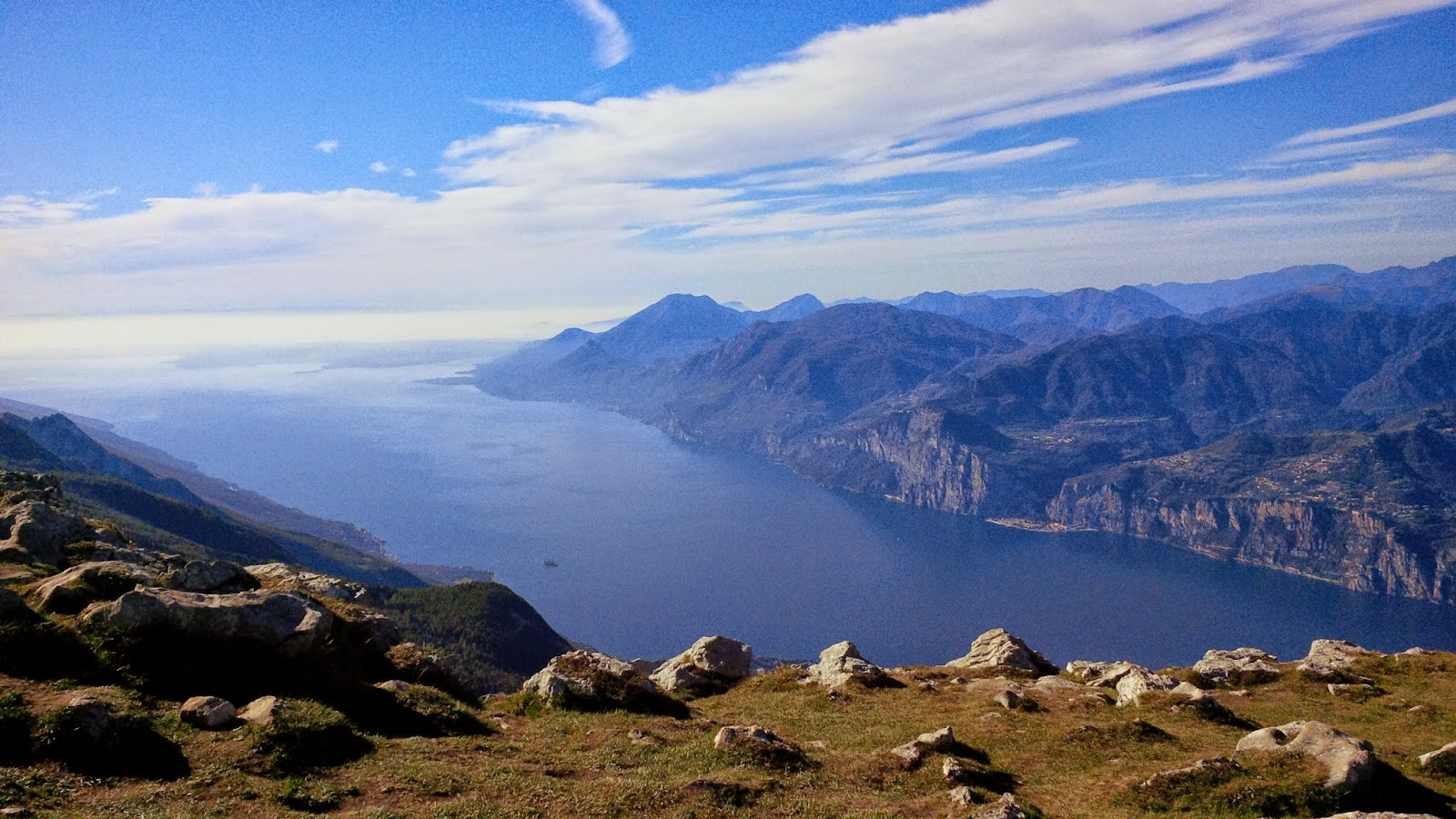Lake Garda seen from Mount Baldo