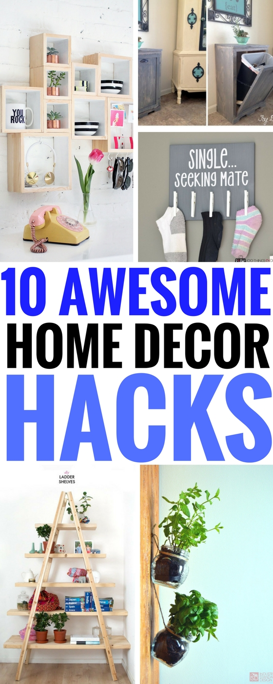 10 insanely genius diy home decor hacks you have to try for Room decor hacks