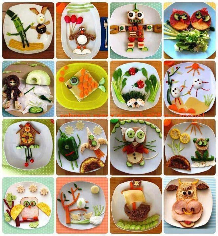 Favoloso 16 composizioni divertenti fatte con il cibo ! (clicca la foto) PQ49