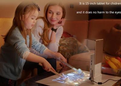 Lazertouch Mini Projector
