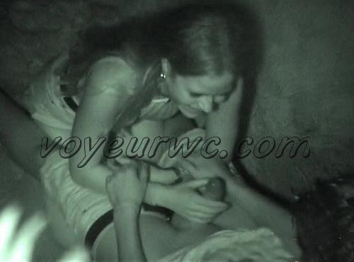 Couple Having Sex in Public on Street Hidden Cam (Galician Night Sex 119-120)