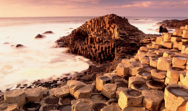 THE GIANT's CAUSEWAY COUNTY ANTRIM, NORTHERN IRELAND