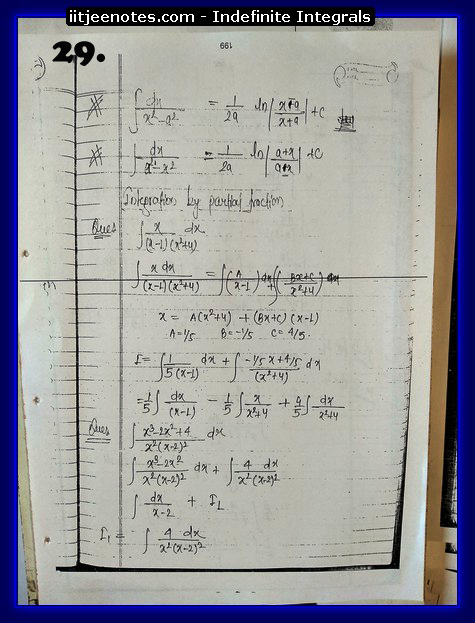 indefinite integrals iitjee1