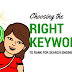 Choosing the Right Keywords to Rank