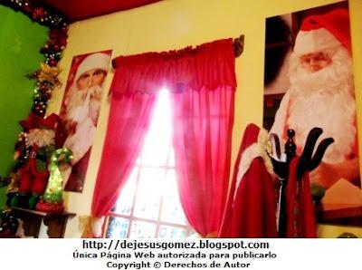 Foto del dormitorio de Papa Noel por Jesus Gómez
