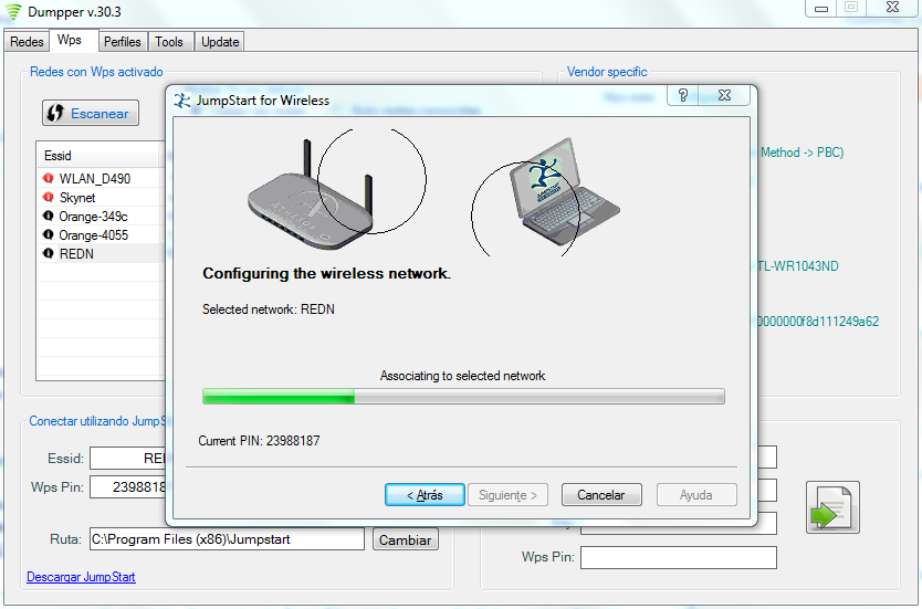how to hack wifi with DUMPER 100% works Garenty: hack wifi for free