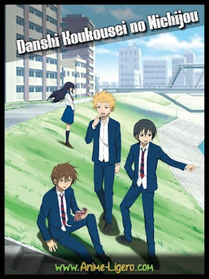 Danshi Koukousei no Nichijou [12/12][+Especiales] [MEGA] BD | 720P [110MB][Sub Español]