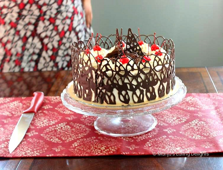 chocolate lace template - manju 39 s eating delights tres leches cake with lychee