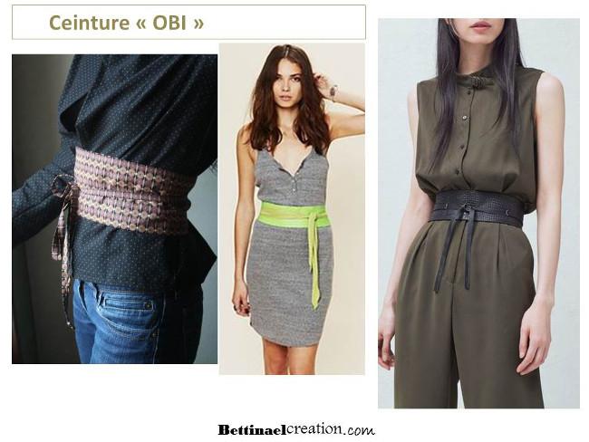 Pour réaliser cette ceinture Obi il vous faut   du tissus et de l entoilage  (thermocollant) ff73c21a8cb