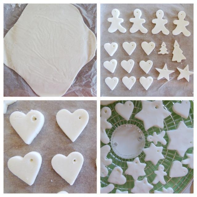 Famoso Cinzia ai fornelli: Pasta di bicarbonato per decorazioni natalizie  QQ21