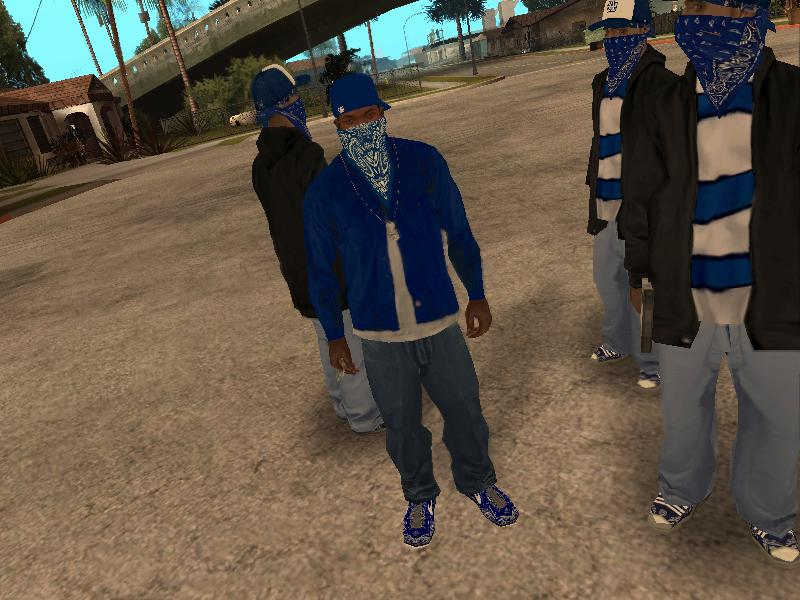 GTA Gang News: Grove Street Crips