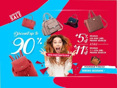 sale sophie, sophie sale, surprise sale, sophie paris, sophie martin, belanja online sophie paris, belanja sophie paris, shopping online, shop online, discount up to 90%, produk sophie paris,