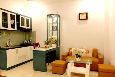 nội thất chung cư mini vân hồ