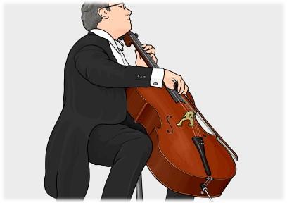 チェロ cello