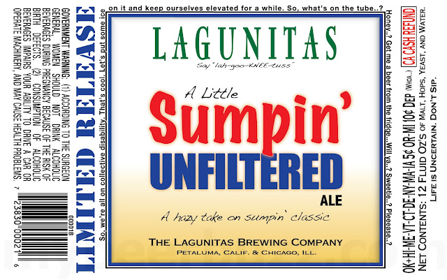 Lagunitas Working On A Little Sumpin' Unfiltered Ale