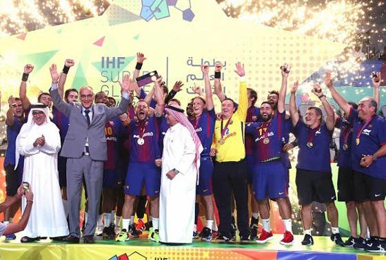 Barcelona Campeón Super Globe Handball 2017