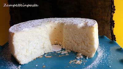Angel cake al limone - Torta di albumi