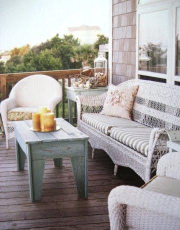 Beach Cottage Style Decorating via Cottage Style Magazine ...
